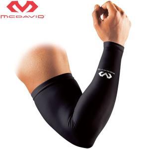 マクダビッド パワーアームスリーブ 両腕用 2本入 アームカバー コンプレッション UVカット ゆうパケット配送|annexsports