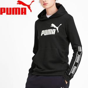 プーマ / スウェット / (セール)PUMA(プーマ)レディーススポーツウェア スウェット AMPLIFIED フーディ 58106401 レディース プーマ ブラックの商品画像|ナビ