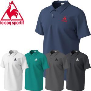 ゆうパケット配送 ルコック le coq sportif  襟付き半袖シャツ メンズ QMMPJA71ZZ annexsports