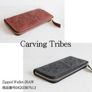 0420387513 Carvingtribes Zipperd Wallet カービングトライブス 送料無料 あすつく|annie-0120