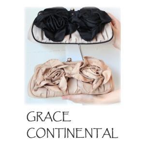 セール SALE グレースコンチネンタル バッグ タックリボンバッグ パーティードレス GRACE CONTINENTAL レディース 通販 コーデ 服|annie-0120