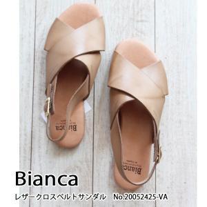 20052425-VA Bianca ビアンカ レザークロスベルトサンダル  送料無料 あすつく|annie-0120