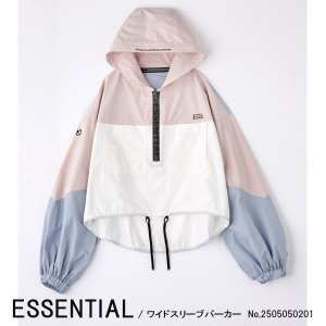 2505-050-201 ESSENTIAL ワイドスリーブパーカー DOUBLE STANDARD CLOTHING ダブルスタンダードクロージング 送料無料|annie-0120