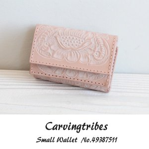 49387511 Small Wallet グレースコンチネンタル carvingtribes カービングトライブス  送料無料 あすつく|annie-0120