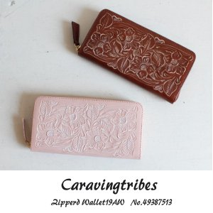 49387513 Zipperd Wallet  グレースコンチネンタル GRACECONTINENTAL carvingtribes 送料無料 あすつく|annie-0120