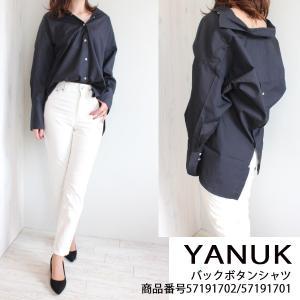 57191701 57191702 YANUK ヤヌーク Back Button Shirt  送料無料 あすつく|annie-0120