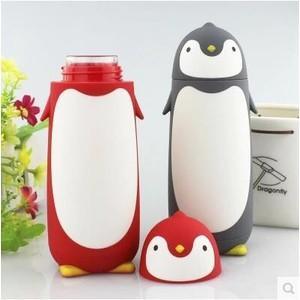 ペンギン 水筒 コップ 子供用 キャラクター キッズボトル 子供用コップ プラコップ カップ キッズ...
