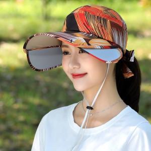 キャップ 帽子 レディース UVカット ハット つば広 紫外線対策 ぼうし 調節できる サンバイザー 日焼け止め アウトドア 通気性 遮光 送料無料 annyshop 03