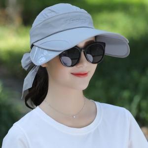 キャップ 帽子 レディース UVカット ハット つば広 紫外線対策 ぼうし 調節できる サンバイザー 日焼け止め アウトドア 通気性 遮光 送料無料 annyshop 06