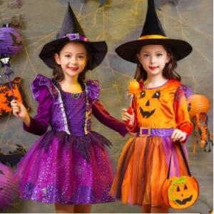 ハロウィン 衣装 子供 女の子 キッズ 仮装 子供服 悪魔 小悪魔 巫女 ハロウィーン Halloween コスプレ コスチューム 魔女 魔法使い 演出服 人気 白雪姫 送料無料|annyshop