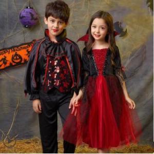 ハロウィン 衣装 子供 女の子 男の子 キッズ 仮装 子供服 吸血鬼 バンパイア 死神 ハロウィーン Halloween コスプレ コスチューム 演出服 人気 送料無料|annyshop