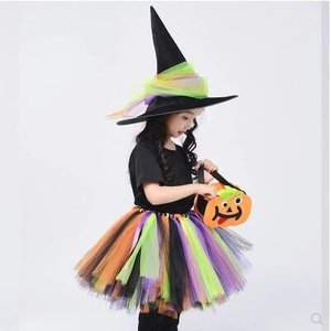 ハロウィン 4点セット 衣装 子供 女の子 キッズ 仮装 子供服 小悪魔 悪魔 巫女 ハロウィーン Halloween コスプレ コスチューム 人気 悪の女王様 送料無料|annyshop