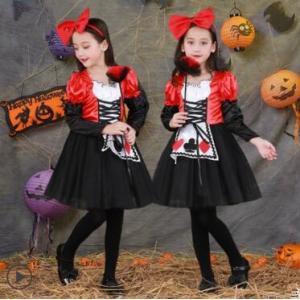 ハロウィン 衣装 子供 女の子 キッズ 仮装 子供服 ハロウィーン Halloween コスプレ コスチューム ドレス パーティー 幼稚園 演出服 人気 送料無料|annyshop