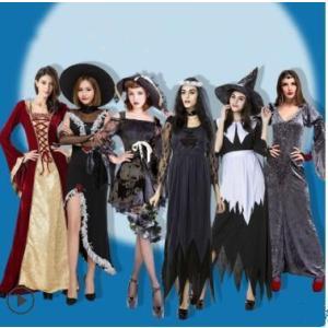 ハロウィン 衣装 大人 仮装 大人服 巫女 吸血鬼 バンパイア Halloween ハロウィーン 魔女 ドレス コスプレ コスチューム パーティー イベント 演出服 送料無料|annyshop