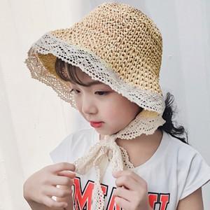 麦わら帽子 親子用 キッズ用 子供用 子ども用 ベビー用 日焼け止め ハット ぼうし ビーチハット UVカット 紫外線対策 つば広 アウトドア 通気性 夏|annyshop