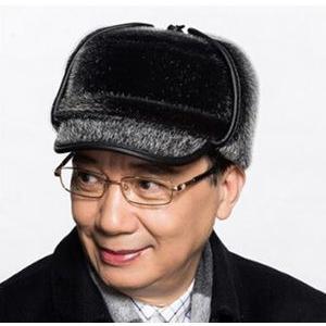 帽子 つば付き パイロット メンズ帽子 耳あて付き ファー 防寒 あったかい アウトドア 冬新作|annyshop