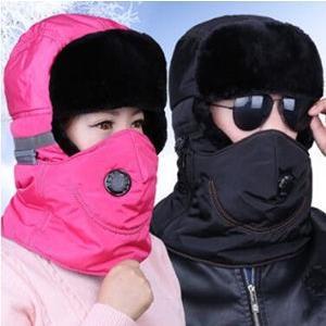 帽子 メンズ パイロット帽子 パイロットキャップ ファスナー 耳あて付き ロシア帽 キャップ ァー 防寒 あったかい アウトドア スキー用 男女兼用|annyshop