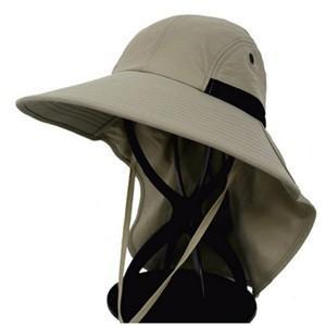 帽子 つば広ハット メンズ UVカット サンバイザー 紫外線対策用 調節可能 折畳み可 農作業 2タイプ 釣り 登山 アウトドア 通気性 日よけ 春夏 新作|annyshop|03