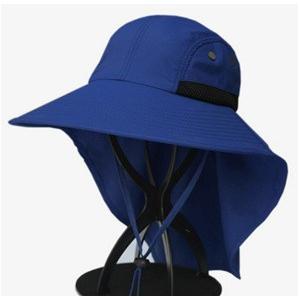 帽子 つば広ハット メンズ UVカット サンバイザー 紫外線対策用 調節可能 折畳み可 農作業 2タイプ 釣り 登山 アウトドア 通気性 日よけ 春夏 新作|annyshop|04