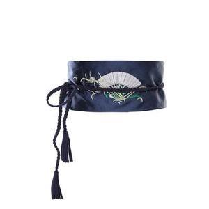 ベルト 太め 太い レディース 飾りベルト 太ベルト 女性用 サッシュベルト 刺繍ベルト オシャレ ファッション小物 フォーマル プレゼント ギフト 贈り物|annyshop