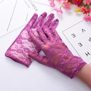 2点セット 手袋 UV手袋  UVカット 涼しい レース手袋 手ぶくろ ショート手袋 日焼け対策 アウトドア 日焼け止め 紫外線防止 通気性 薄手 夏 送料無料|annyshop