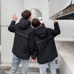 中綿コート レディース メンズ カップル 中綿ジャケット 中綿アウター フード付き コート ロング丈 ゆったり 厚手 防寒 暖かい あったか 冬物 新作 送料無料|annyshop|05