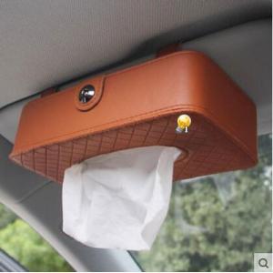ティッシュボックス ティッシュケース カバー レザー製 車用 車内便利 車内収納 アクセサリー ビジュー付き|annyshop