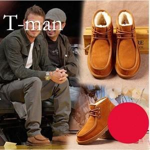 靴 メンズ ワークブーツ チャッカブーツ ブーツ メンズ ボア ムートンブーツ デザート ブーツ スエード 防寒ブーツ モカシン メンズシューズ|annyshop