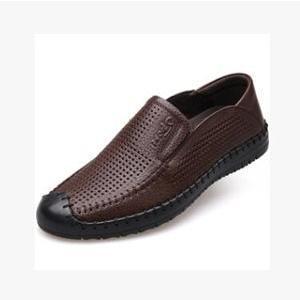 カウレザーシューズ メンズシューズ メンズ 本革 牛革靴 ビジネスシューズ 革靴 通気性抜群 安定感 カジュアル 2017|annyshop