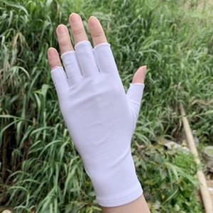 手袋 レディース メンズ UVカット 指なし 涼しい 手ぶくろ ショート手袋 日焼け対策 アウトドア 日焼け止め 紫外線防止 通気性 薄手 夏 送料無料|annyshop