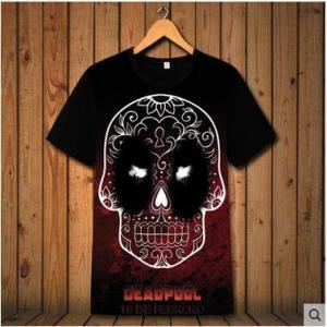Tシャツ メンズTシャツ tシャツ 半袖 半そでtシャツ デッドプール Deadpool  プリント 夏 カットソー  クルーネック トップス レディース 男女兼用|annyshop