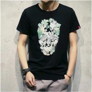 Tシャツ メンズTシャツ tシャツ 半袖 半そでtシャツ メンズ プリント 夏 カットソー メンズファッション クルーネック トップス|annyshop