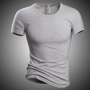 Tシャツ tシャツ メンズ 半袖tシャツ 半袖 無地 丸首 メンズTシャツ 細身 カジュアル おしゃれ 夏Tシャツ 夏物 夏服 2019 新作 送料無料|annyshop|04
