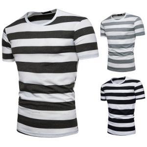 Tシャツ tシャツ メンズ 半袖tシャツ 半袖 ボーダー柄 丸首 メンズTシャツ カジュアル おしゃれ 夏Tシャツ 夏物 夏服 2019 新作 送料無料|annyshop|02
