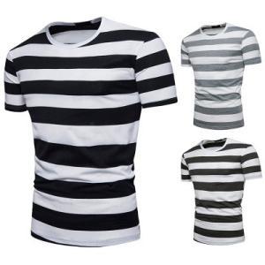 Tシャツ tシャツ メンズ 半袖tシャツ 半袖 ボーダー柄 丸首 メンズTシャツ カジュアル おしゃれ 夏Tシャツ 夏物 夏服 2019 新作 送料無料|annyshop|03