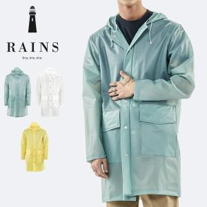 Hooded Coat  デンマーク生まれのブランドRAINSより、軽く高い防水力を誇るレインコート...