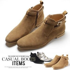 ショートブーツ メンズ PU革靴 チャッカブーツ 靴|anothernumber