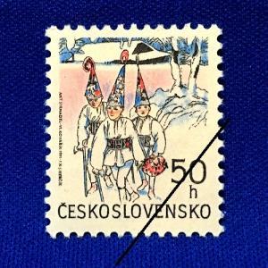 海外切手 海外クリスマス切手 チェコスロバキア切手 #273|anqrenco-monde