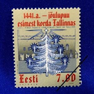 海外切手 海外クリスマス切手 エストニア切手 #274|anqrenco-monde