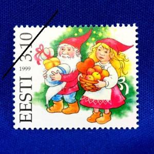 海外切手 海外クリスマス切手 エストニア切手 #275|anqrenco-monde