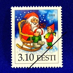 海外切手 海外クリスマス切手 エストニア切手 #276|anqrenco-monde
