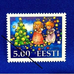 海外切手 海外クリスマス切手 エストニア切手 #277|anqrenco-monde