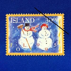 海外切手 海外クリスマス切手 アイスランド切手 #279|anqrenco-monde