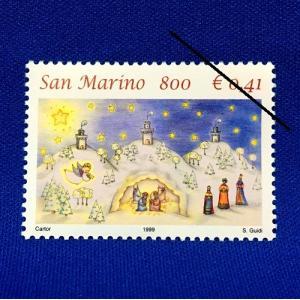 海外切手 海外クリスマス切手 サンマリノ切手 #280|anqrenco-monde