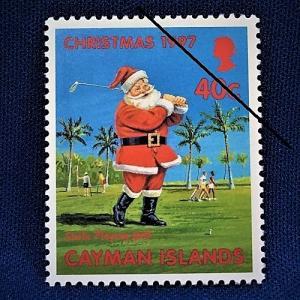 海外切手 海外クリスマス切手 サンタクロース切手 ケイマン諸島切手 #281|anqrenco-monde