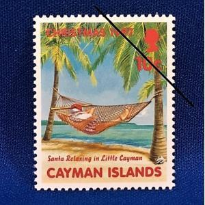 海外切手 海外クリスマス切手 サンタクロース切手 ケイマン諸島切手 #282|anqrenco-monde