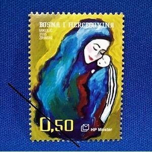 海外切手 海外クリスマス切手 ボスニア切手 #288|anqrenco-monde