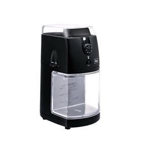 メリタ Melitta コーヒー グラインダー コーヒーミル 電動 フラットディスク式 杯数目盛り付き ホッパー 100g、 定格時間 90秒間 パー|anr-trading