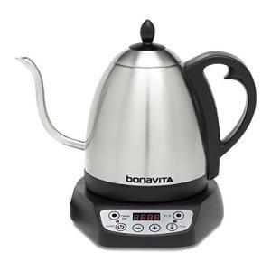 【並行輸入】Bonavita 1-Liter Variable Temperature Digital Electric Gooseneck Kett|anr-trading