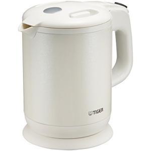 タイガー魔法瓶(TIGER) 電気ケトル 0.8L ホワイト PCH-G080-WP|anr-trading